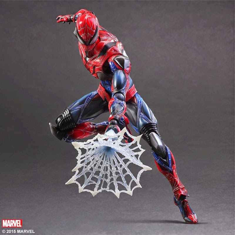 spider man play arts kai square enix