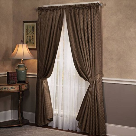 Amazing photos of world latest designs of interior of for Bedroom curtains designs