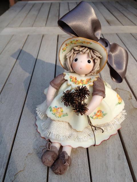 Bambola di mais romantica