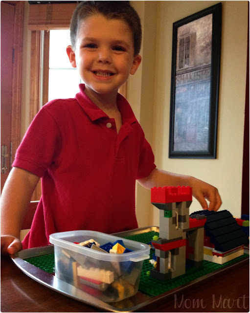 Make your own LEGO Play Tray #DIY #CraftsForKids