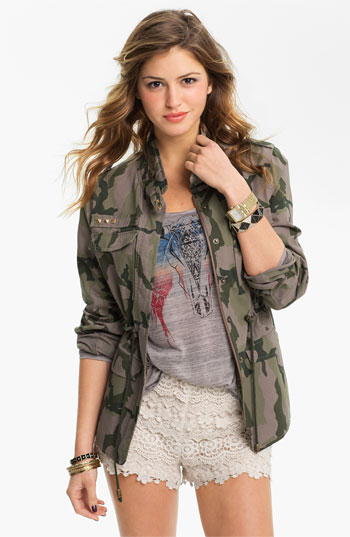 Camo Jackets for Girls by Candidcool