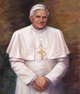 - SUA SANTIDADE O PAPA BENTO XVI - ROMANO PONTÍFICE EMÉRITO: