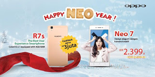 Promo Akhir Tahun OPPO Smartphone