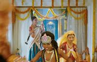 Nazriya Nazim Rare Navel Show Stills 2