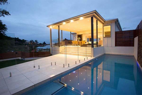 Casas minimalistas y modernas piscinas actuales y for Casas actuales modernas