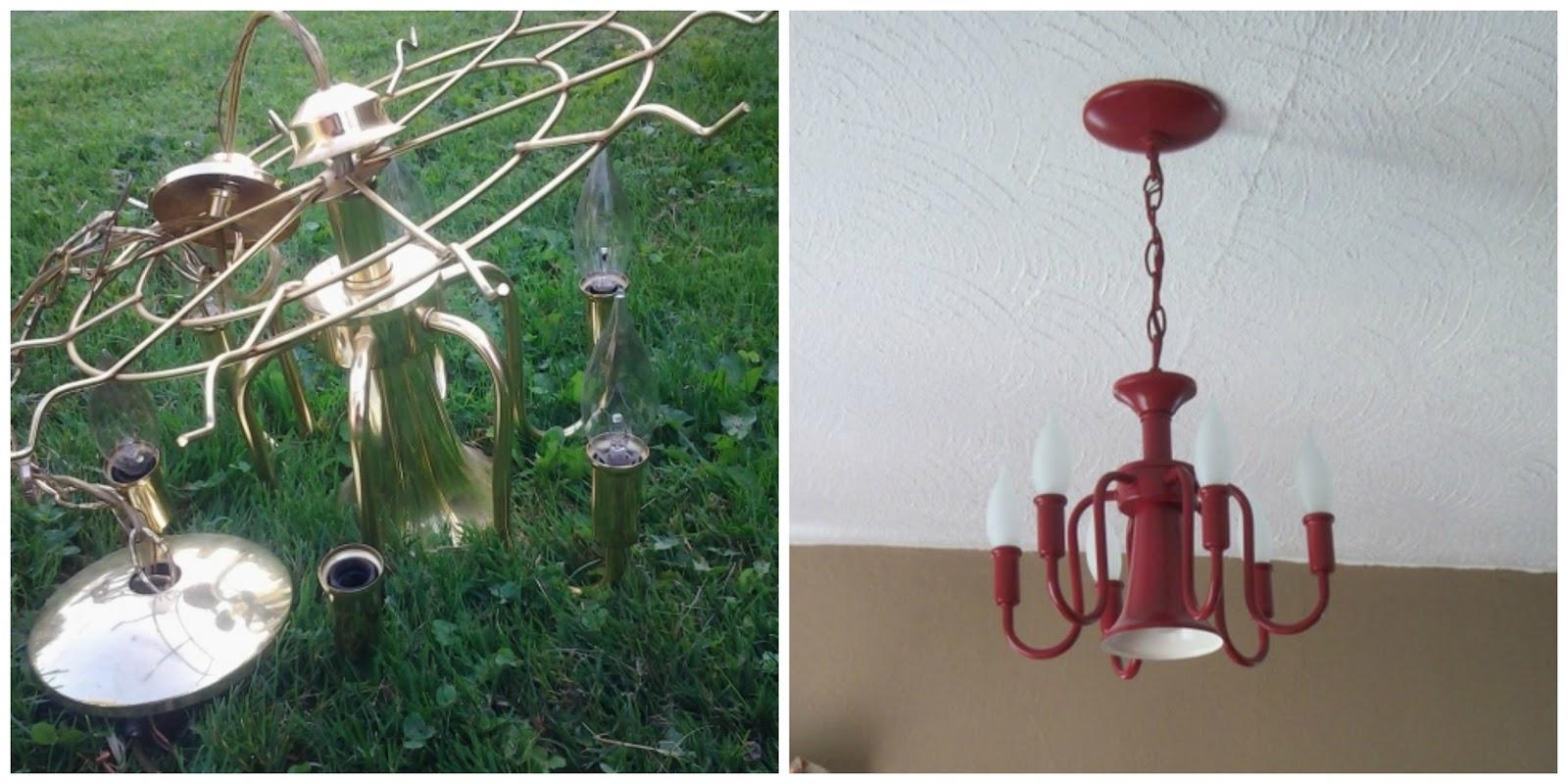 Frugal find makeover 5 chandelier aloadofball Image collections