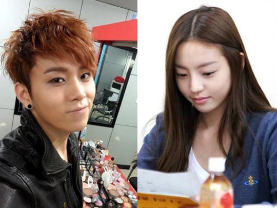 junhyung and hara are dating