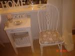 denne stolen har jeg malt