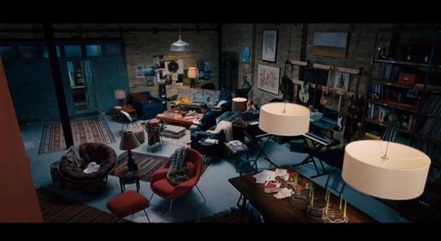 Salón de la casa de los protagonistas de Todos los días de mi vida