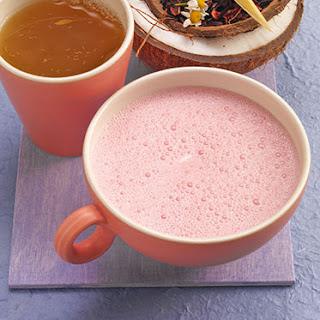 pink coconut hibiscus tea