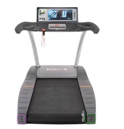 Treadmill Belt Too Loose: TREADMILL WALK BELT ADJUSTMENT