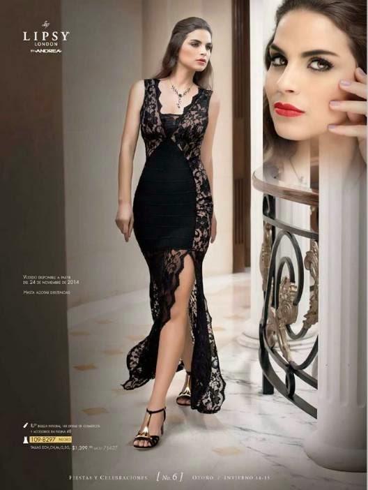 vestido negro andrea OI 14-15