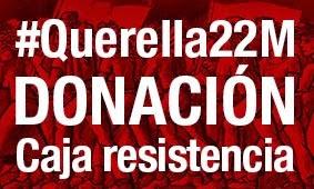 Caja de resistencia contra la represión  de las Marchas de la Dignidad