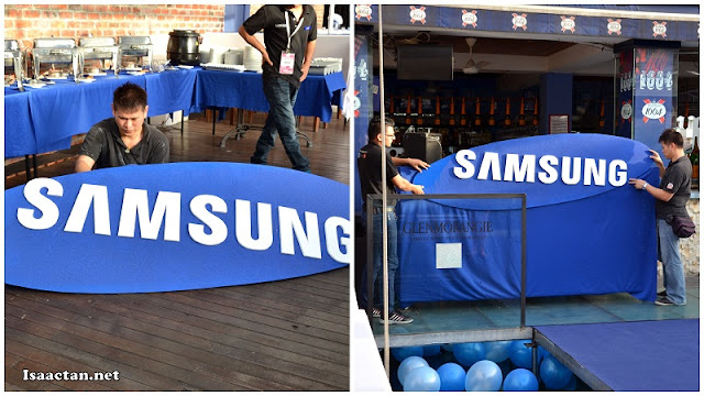 Setting the stage for an exciting night out with Samsung