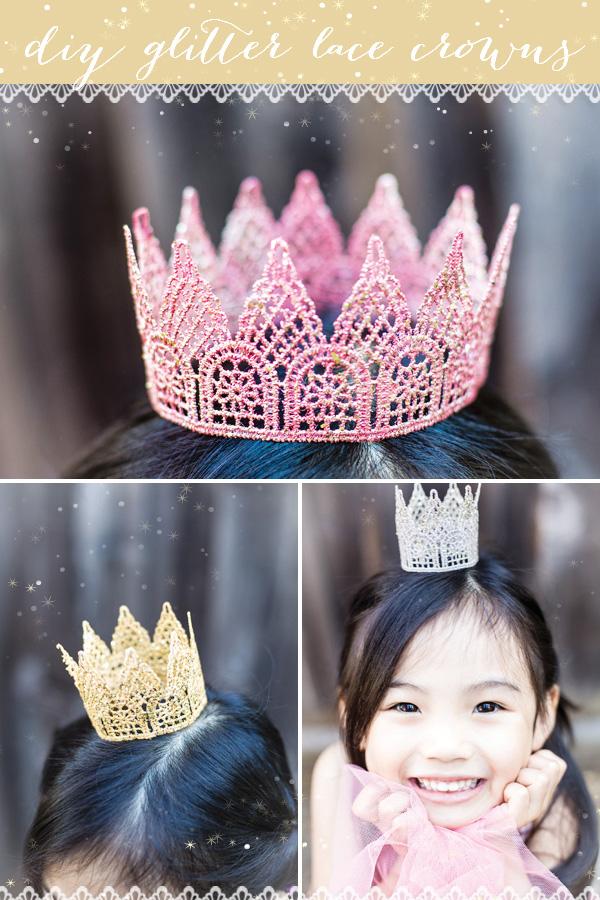 Как сделать корону для девочки фото