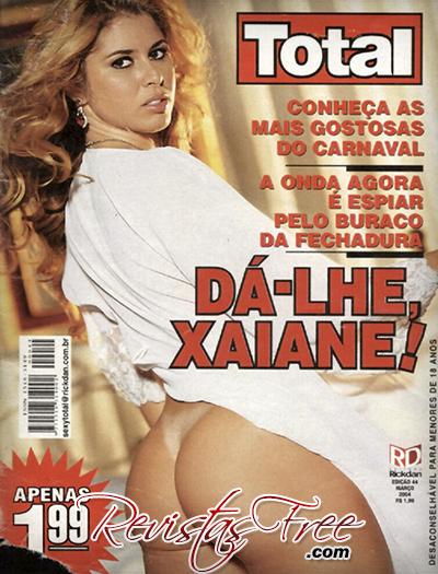 Xaiane Dantas - Sexy Total - Março 2004