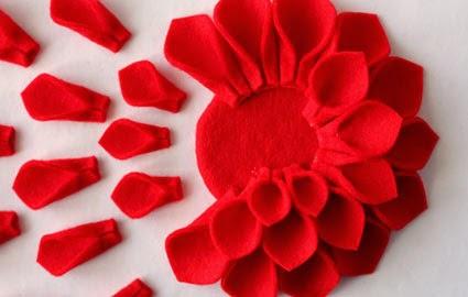Como Hacer Flores Solaperas con Fieltro, Ideas para el Dia de la Madre