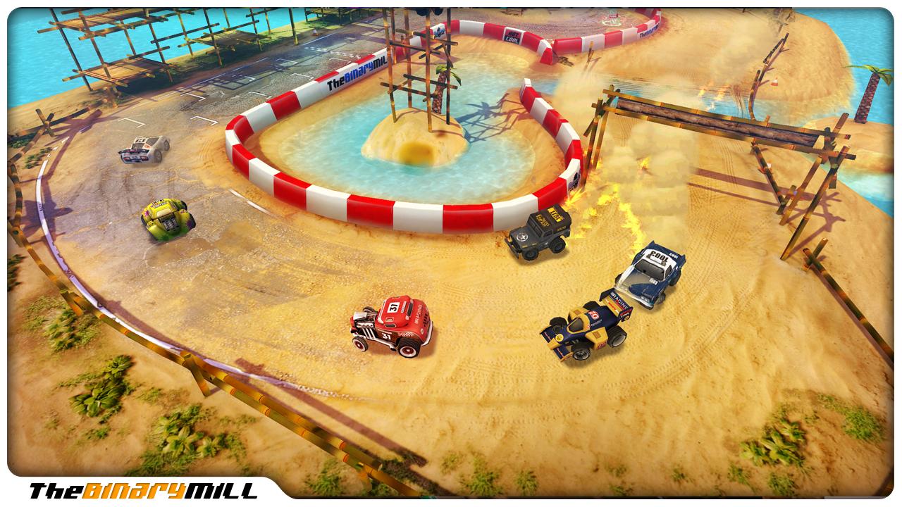 ���� ���� �������� ������� ������� ���������� Android Mini Motor Racing v1.7.2
