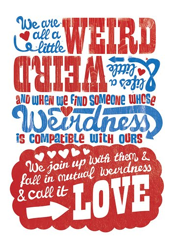 Dr seuss quote love weird dr seuss quotes mutual weirdness love altavistaventures Images