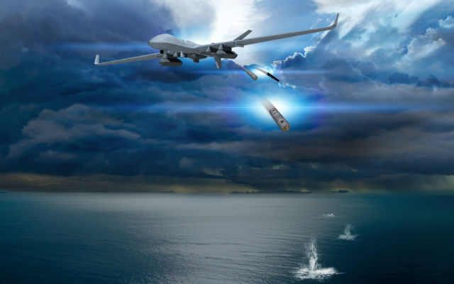 MQ-9 with the sonobuoy concept