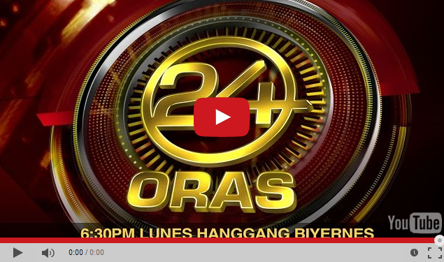 GMA-7 24 Oras Live Streaming Online Every Saturdays and Sundays for Filipinos only