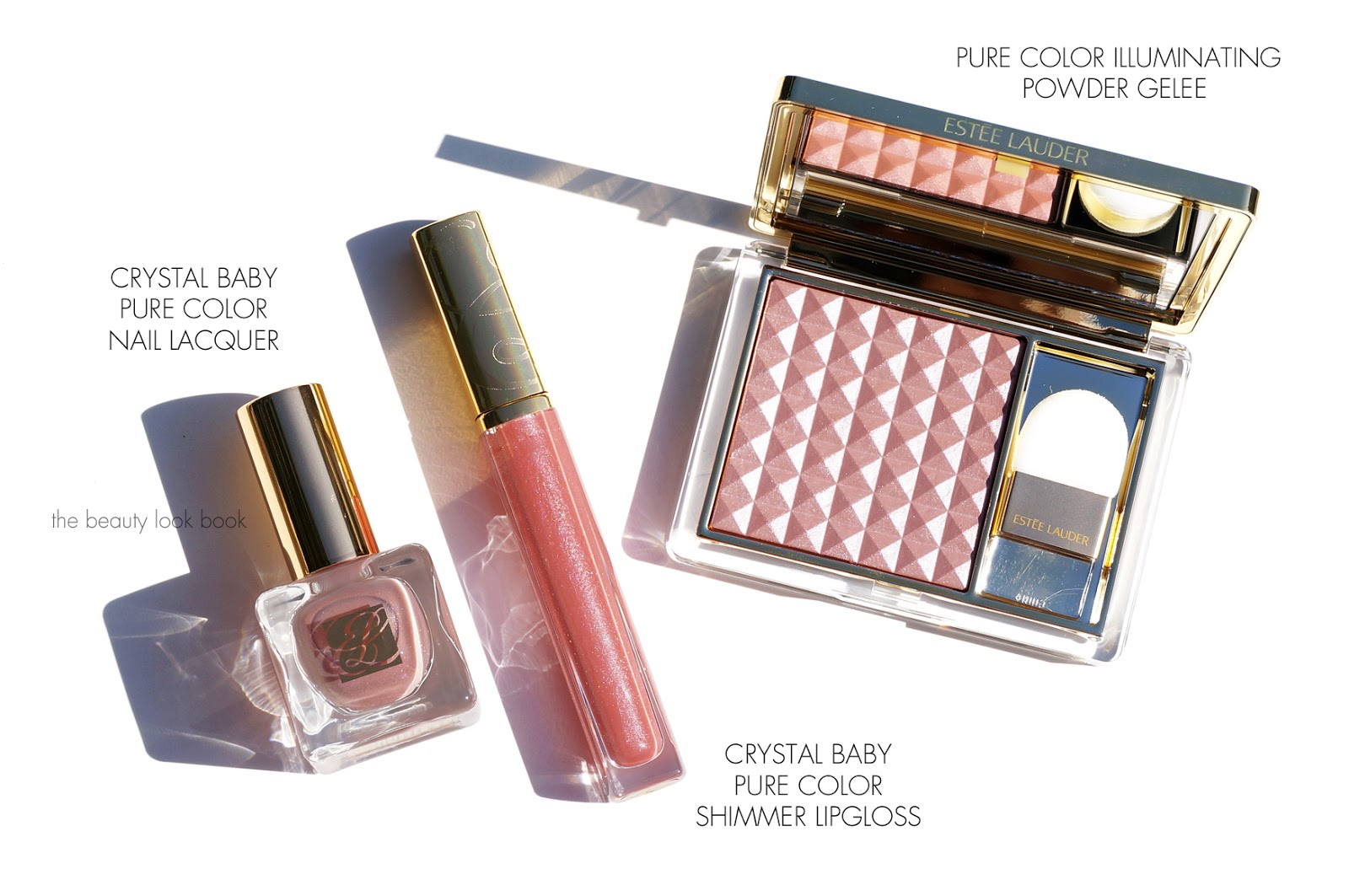 Estee Lauder Crystal Baby Collection | Nail Lacquer, Shimmer Lip ...