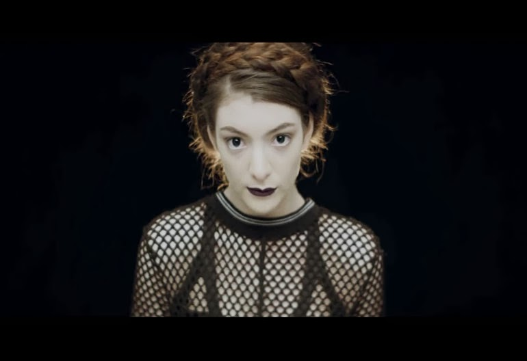 Lorde, Tennis Courts music video, Lorde music