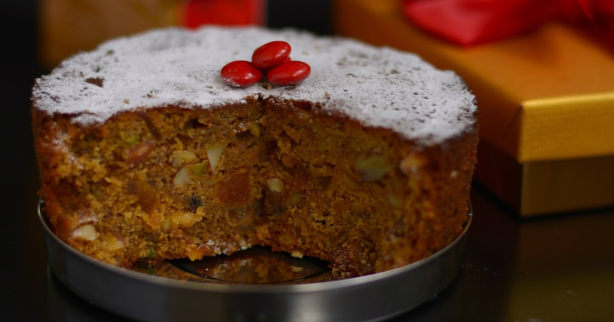 Old Fashioned Dark Christmas Cake Recipe