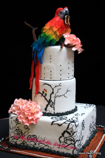 Mad About Cake Parrot Cake