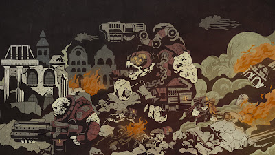 Ilustraciones de Gears of War 3