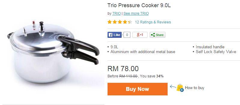 Shopping RM1212 di Lazada Malaysia