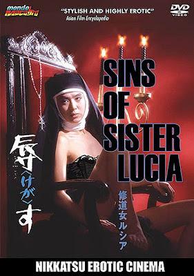 The Sins of Sister Lucia aka Shudoko Rushia - Kegasu Pinku, Drama, Nikkatsu Roman Porno