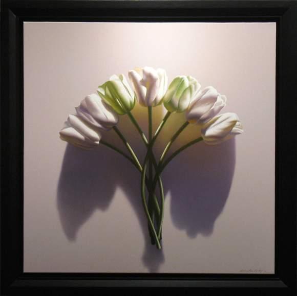 Karya Seni Lukisan Bunga