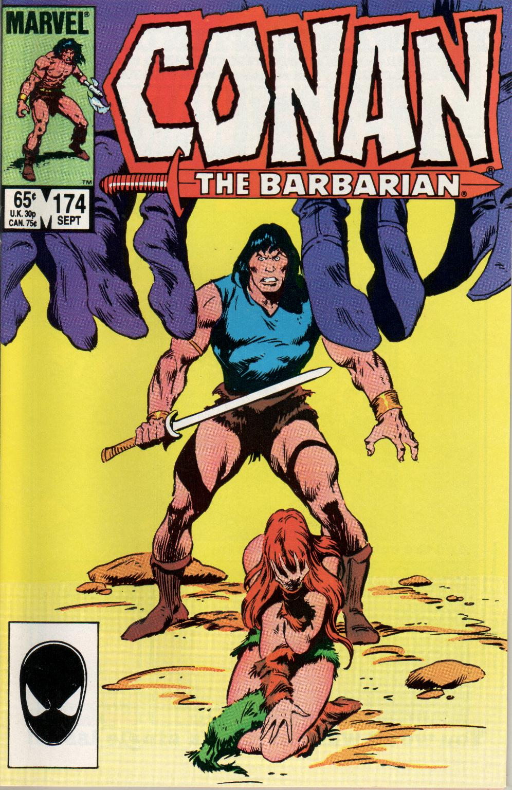 Conan the Barbarian (1970) Issue #174 #186 - English 1
