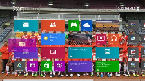 Tema Persija Jakarta Untuk Windows 8