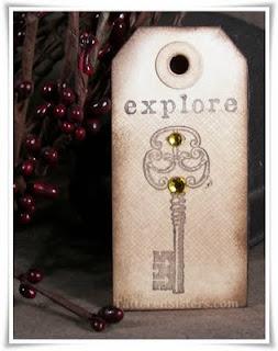 Explore Primitive Hangtag Magnet