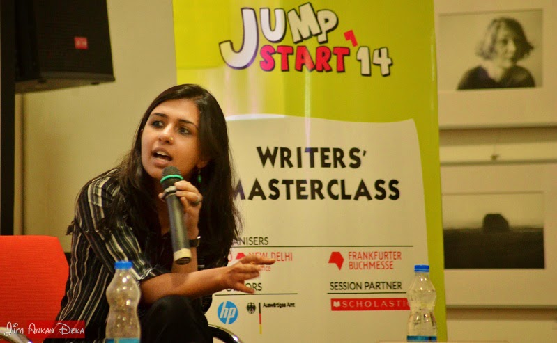 Sophie Benini Pietromarchi at Jumpstart-14, Bangalore (photo - Jim Ankan Deka)