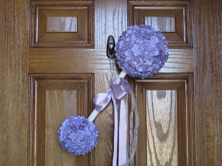 Beau fleurs adventures in crafting diy easy and elegant for Baby boy door decoration