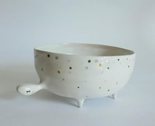 whimsical animal ceramic