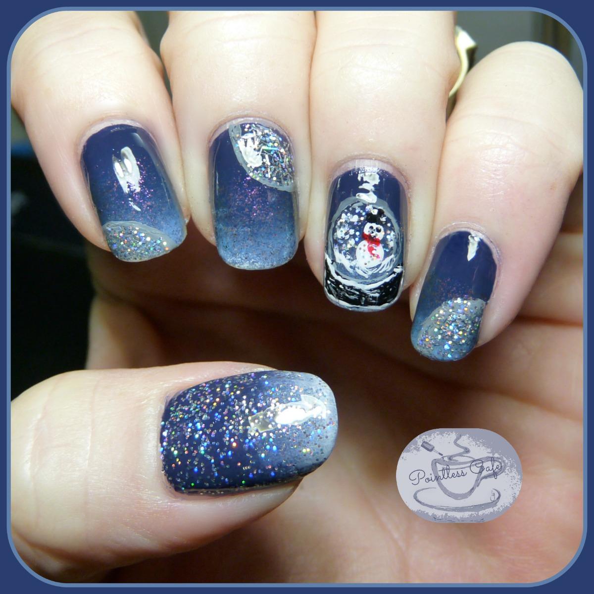 Snow-Globe-Nail-Art