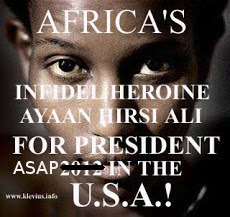 Read intelligent Ayaan Hirsi Ali rather than listen to BBC's (?) Mishal Husain's propaganda rant