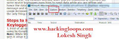 how to hack keylogger using wireshark