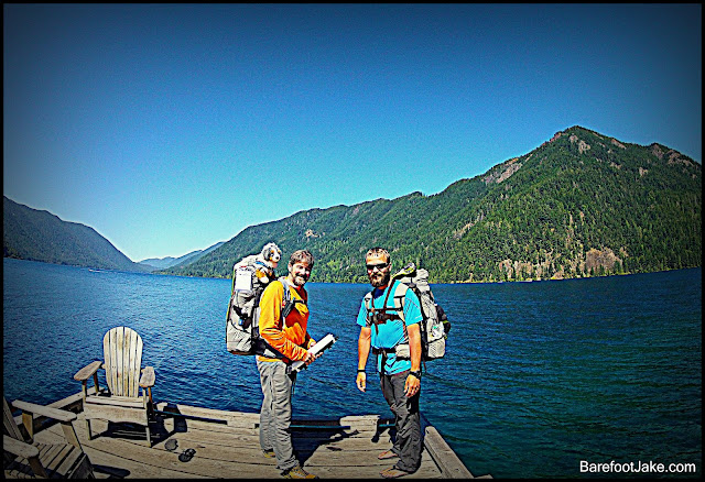 backpacking lake crescent