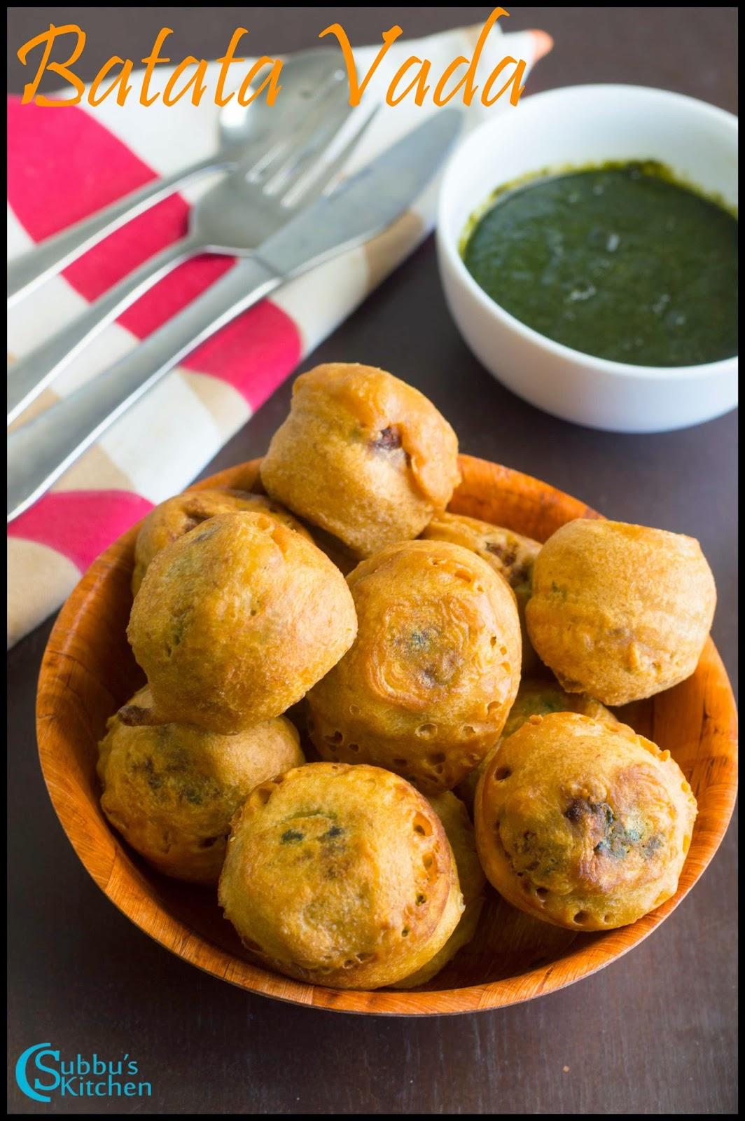 Batata Vada Recipe | Mumbai Style Aloo Bonda Recipe