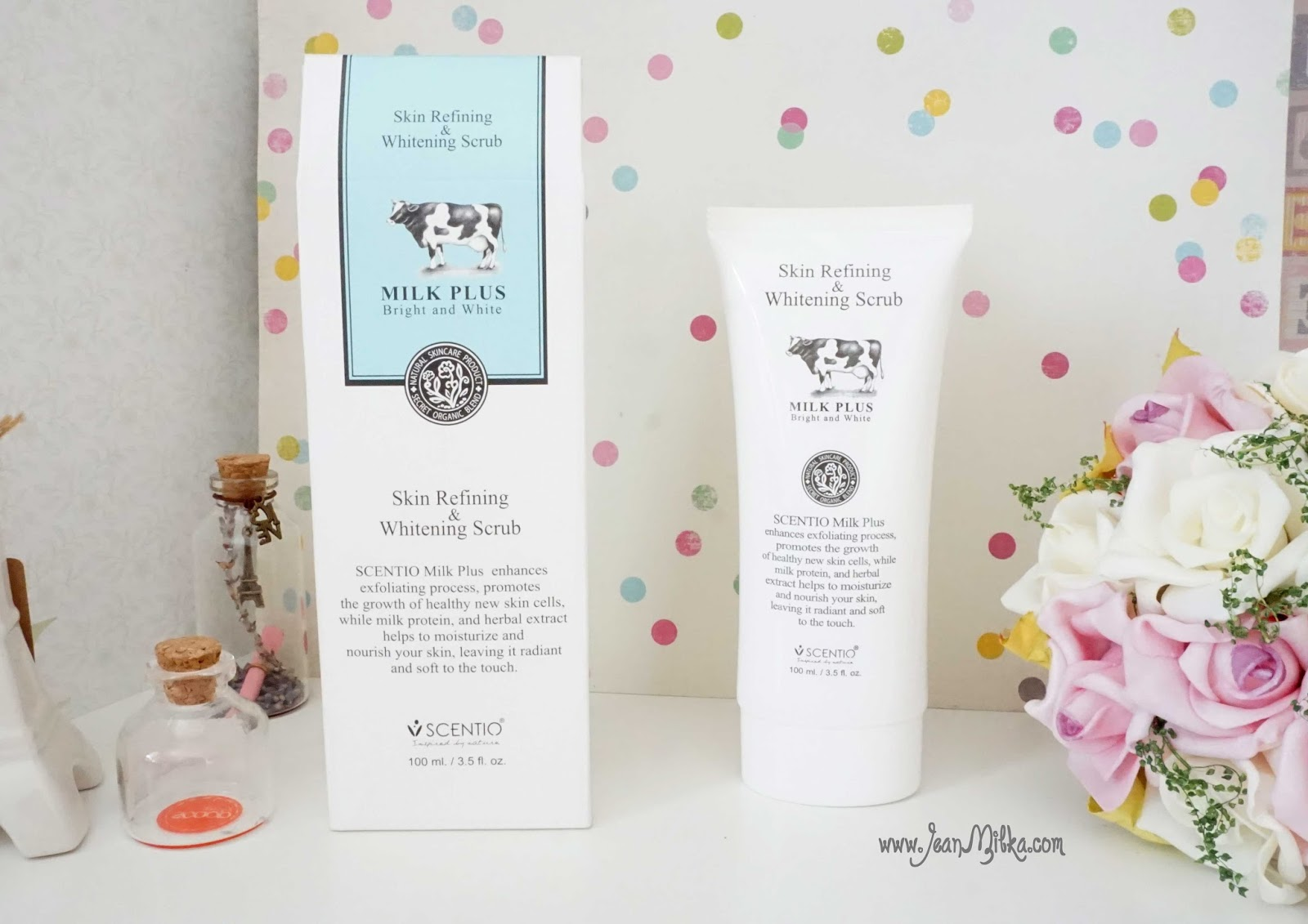 Scentio Milk Plus Skin Refining Whitening Scrub By Beauty Buffet Lightening Facial