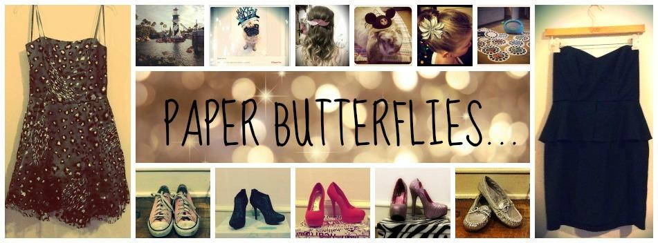 Paper Butterflies...