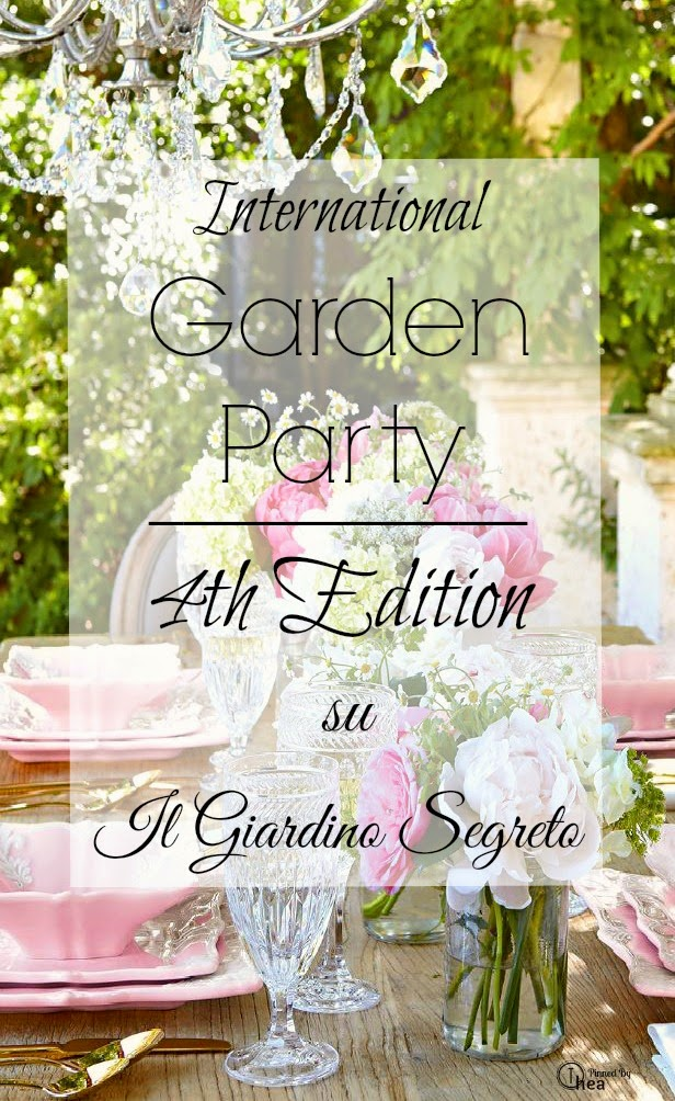 Partecipo all'International Garden Party