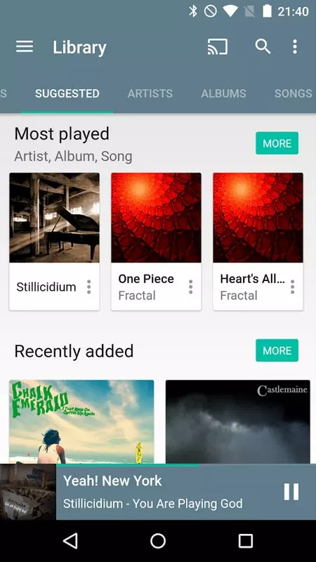 Download Shuttle+ Music Player v1.5.11 Cracked Apk For Android