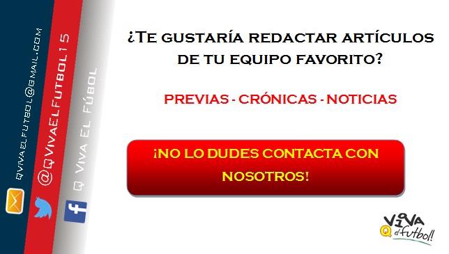 ¡¡Q Viva El Fútbol busca redactores para ampliar este gran proyecto!!