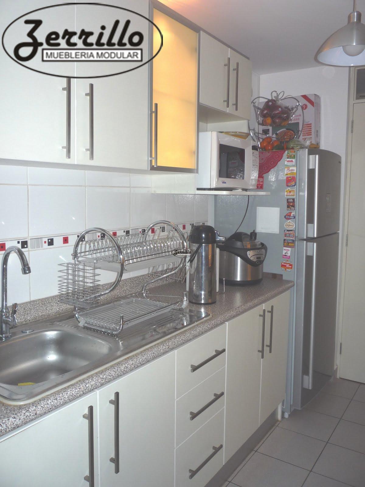 Muebles de melamine for Guardas para cocina